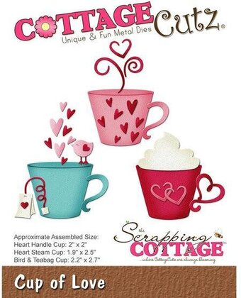 CottageCutz Cup Of Love Die