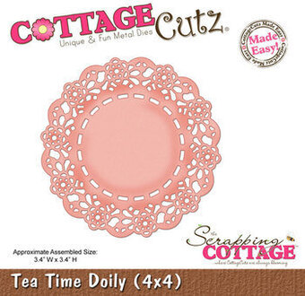 CottageCutz Tea Time Doily Die