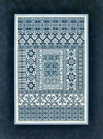 Spanish Bleu - Cross Stitch Pattern