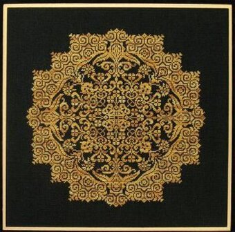 Kaleidoscope Flower - Cross Stitch Pattern