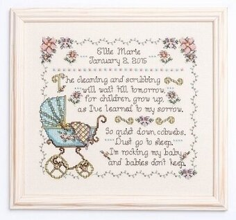 Babies Don't Keep - Cross Stitch Pattern