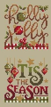 Christmas Club 1 - Cross Stitch Pattern