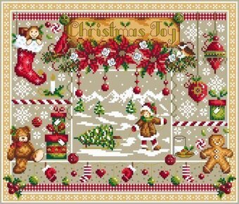 Christmas Joy - Cross Stitch Pattern