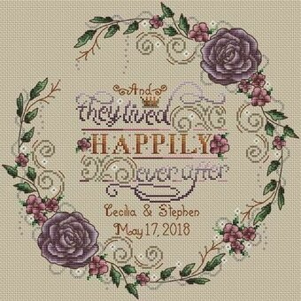 Happily Ever After - Cross Stitch Pattern
