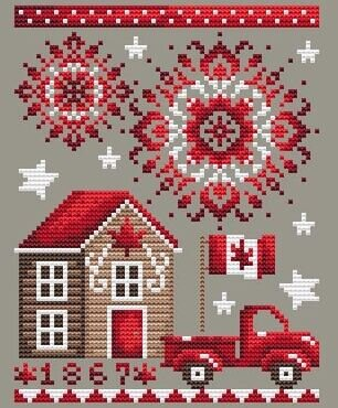 July 1st - Cross Stitch Pattern
