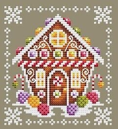 Peppermint's House - Cross Stitch Pattern