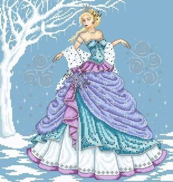 Winter Queen - Cross Stitch Pattern