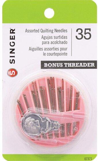 SINGER  Assorted Hand Needles 45 Count Assorted Pkg