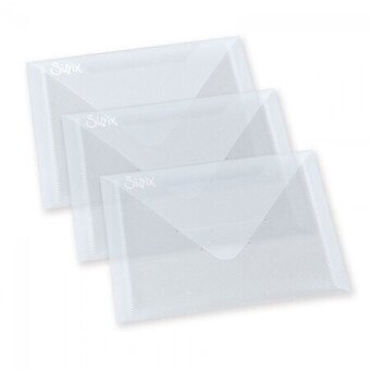 "Sizzix Accessory - Plastic Envelopes 5"" x 6 7/8"""