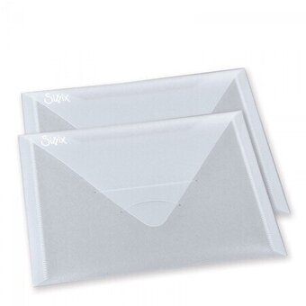 "Sizzix Accessory - Plastic Envelopes 6 1/4"" x 9"""