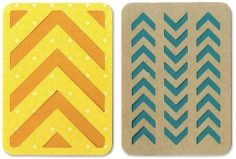 "Sizzix Thinlits Dies - 3"" x 4"" Cards #3"