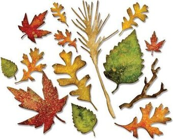 Tim Holtz Thinlits Dies - Fall Foliage
