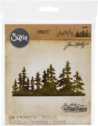 Tim Holtz Thinlits Die - Tree Line