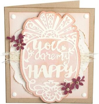 Sizzix Thinlits Dies - You Are My Happy