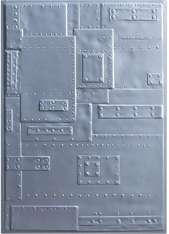 Tim Holtz 3D Embossing Folder - Foundry