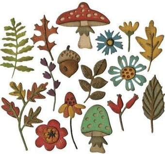 Tim Holtz Thinlits Dies - Funky Foliage