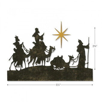 Tim Holtz Thinlits Christmas Craft Die - Wise Men