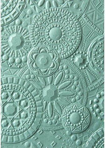 Sizzix 3-D Embossing Folder - Mosaic Gems