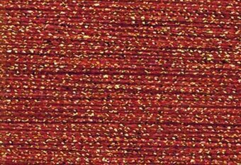 Rainbow Gallery Sparkle Braid - SK15 China Red