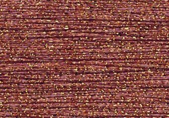 Rainbow Gallery Sparkle Braid - SK45 Dark Gold Mauve