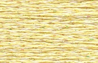 Rainbow Gallery Petite Silk Lame Braid - SP104 Soft Yellow