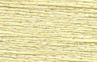 Rainbow Gallery Petite Silk Lame Braid - SP171 Mellow Yellow