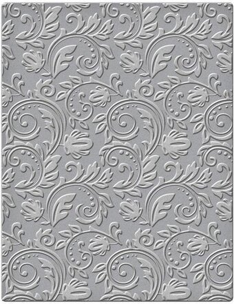 Embossing Folders Floral 4.25 x 5.5 in Single Sided