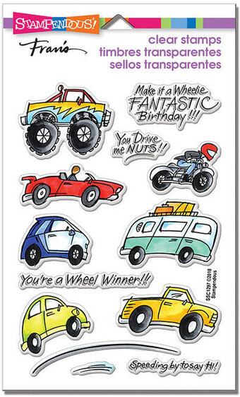 Wheels - Perfectly Clear Stamps