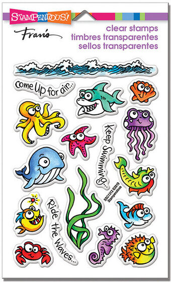Fishy Fun Perfectly Clear Stamp