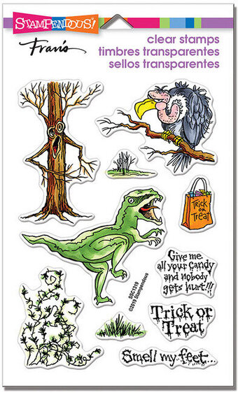 Creature Tricks Halloween - Perfectly Clear Stamp