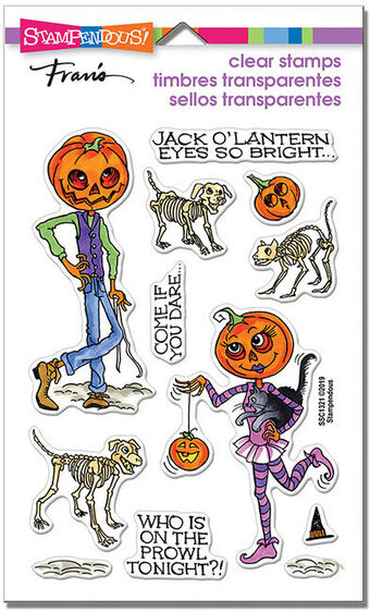 Pumpkin People Halloween - Perfectly Clear Stamp