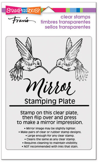 Mirror Stamping Plate