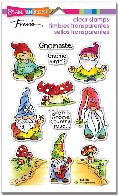 Gnomaste - Perfectly Clear Stamps Set