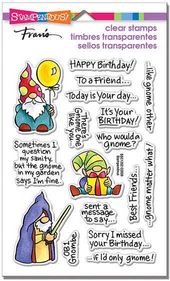 Gnome Sayings - Perfectly Clear Stamps