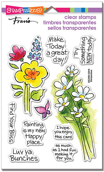 Bunch of Blossoms - Perfectly Clear Stamps