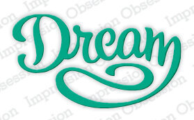 Dream - Impression Obsession Craft Die