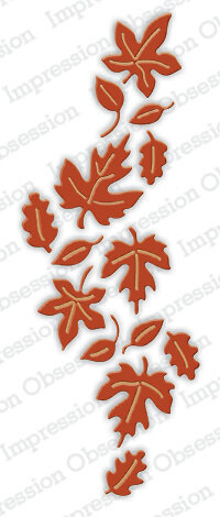 Leaves Reverse - Impression Obsession Craft Die