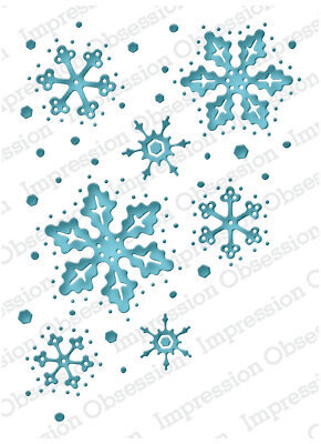 Snowflake Reverse - Impression Obsession Craft Die