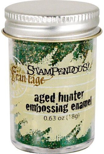 Aged Hunter Embossing Enamel