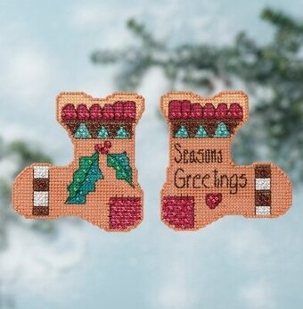 Seasons Greetings - Beaded Cross Stitch Kit