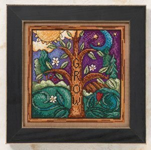 Grow - Beaded Cross Stitch Kit