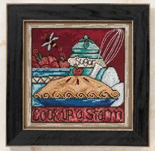 Cook Up a Storm - Beaded Cross Stitch Kit