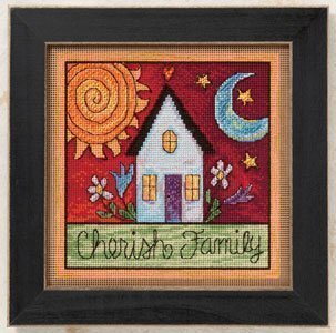 Cherish Family - Beaded Cross Stitch Kit