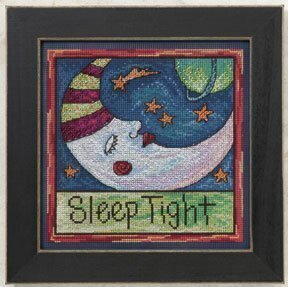 Sleep Tight - Beaded Cross Stitch Kit