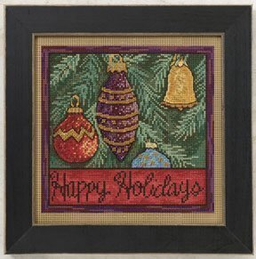 Holiday Ornaments - Beaded Cross Stitch Kit