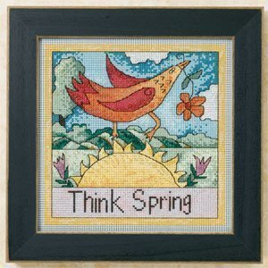 Think Spring - Beaded Cross Stitch Kit