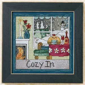 Cozy In - Beaded Cross Stitch Kit