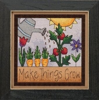 Make Things Grow - Beaded Cross Stitch Kit