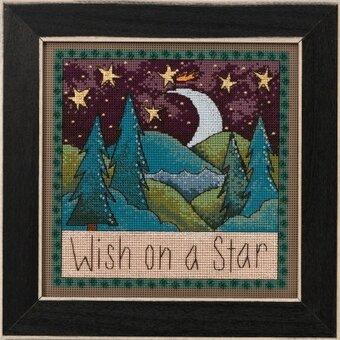 Wish Upon a Star - Beaded Cross Stitch Kit