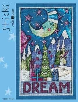 Dream (Sticks) - Cross Stitch Pattern